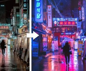 Cyberpunk Look in Photoshop