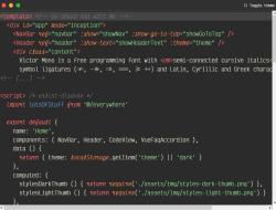 Free Programming Font