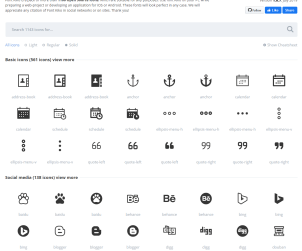Free 1100 Open Source Icons