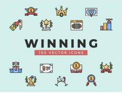 Free Winning Vector Icons