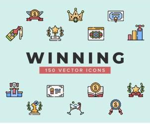 Free Winning Vector Icons
