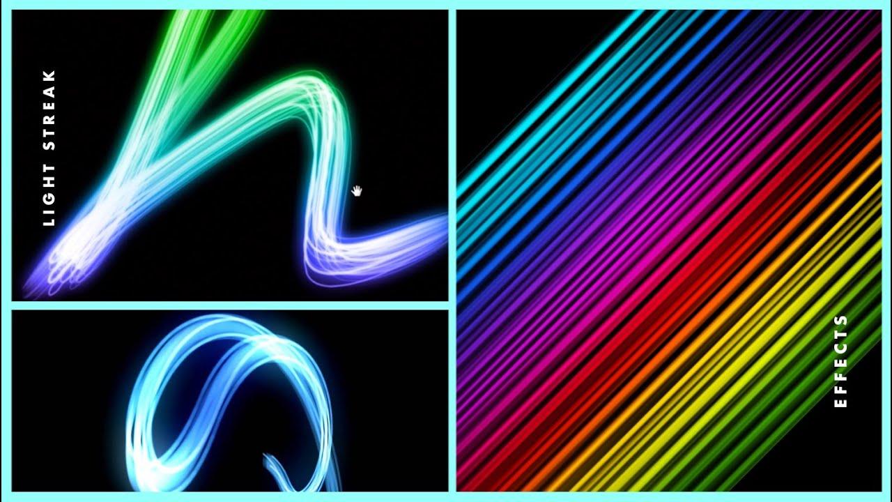 Light Streak Effect in Photoshop