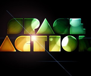 Shiny Abstract Text Effect