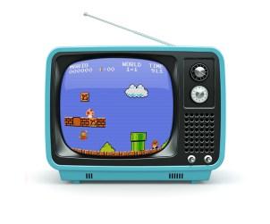 Free Old TV Mockup