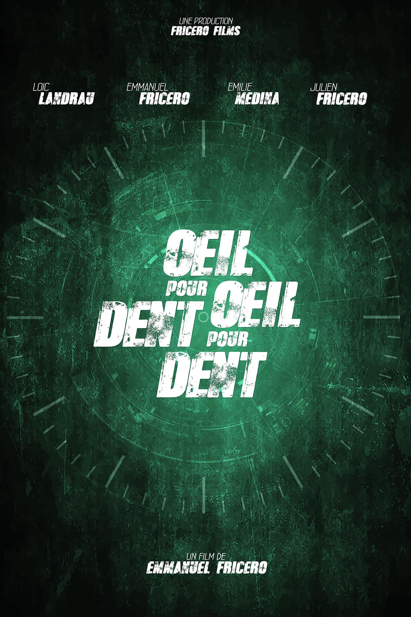 Oeil Pour Oeil Dent Pour Dent : ŒIL,, FRICERO, FILMS