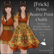 {Frick} Petite Beatriz Print Outfit