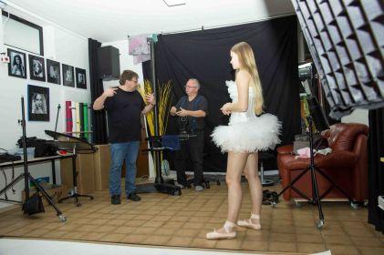 Foto: Stephanie Eckgold | Making of aus einem Shooting mit Raffaela