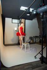 Foto: Stephanie Eckgold   Making of aus einem Shooting mit Raffaela