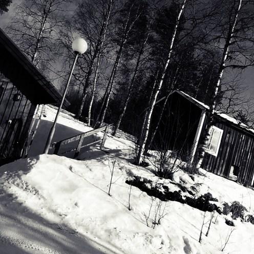 Huset på kullen är ett gammalt hönshus som skall bli gäststuga