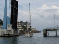 The departure from St. MArtin