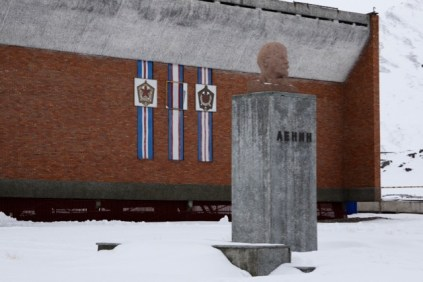 The northernmost Lenin satue.