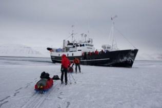 Next stop Longyearbyen.