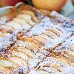 äppelkaka i långpanna