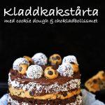 kladdkakstårta chokladboll cookiedough