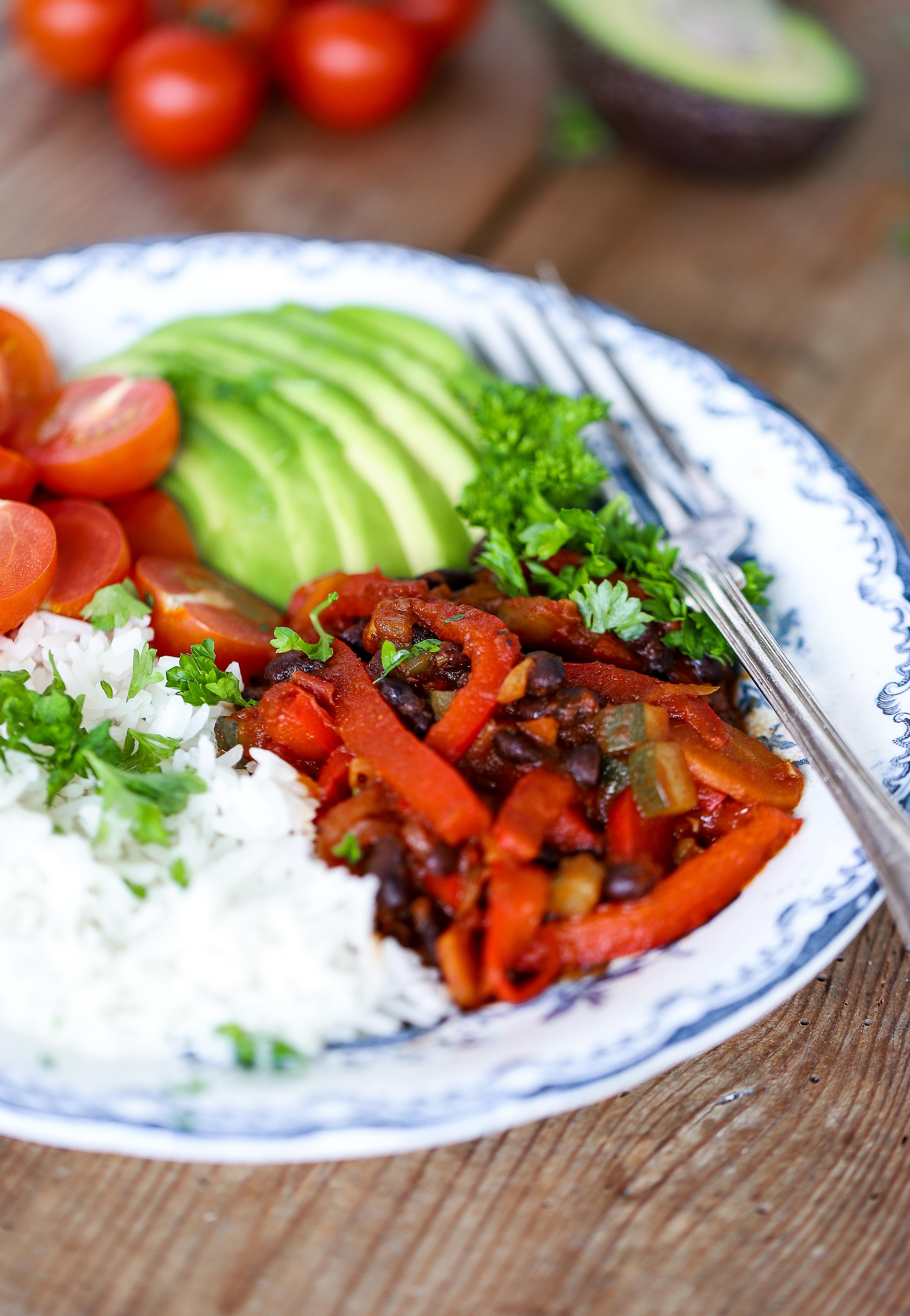 Vegansk Chiligryta