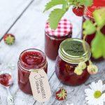 Jordgubbssylt recept strösocker