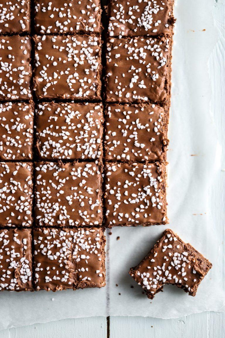 Chokladbollsbiskvier i långpanna