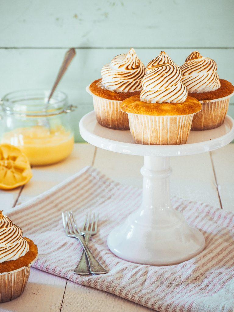 Citron Maräng Cupcakes