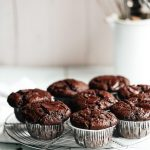 Saftiga Chokladmuffins med mintgömma