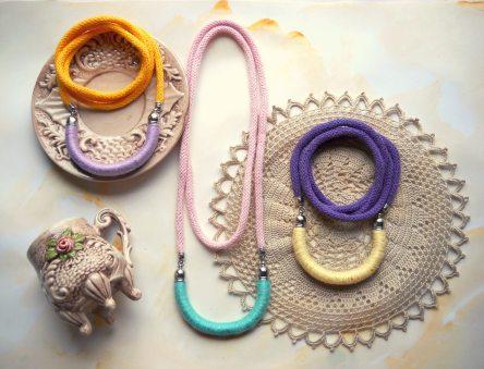 Collane lunghe MilleGiri Basic - FridaWer Collezione Pastello Primavera 2016