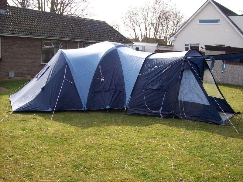 Vango Diablo 6 Berth 2 Bedroom Family Tent In Its Own Bags Rrp & vango 2 bedroom tent | Functionalities.net
