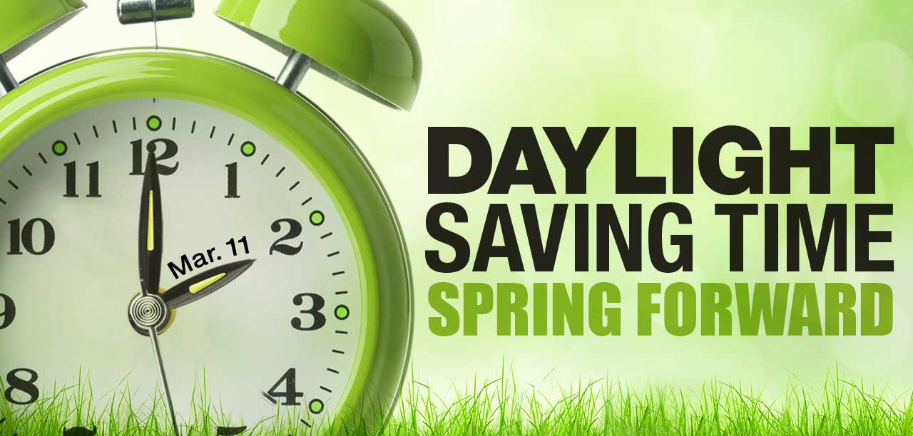Time to spring forward one hour on Sunday   The Friday Flyer