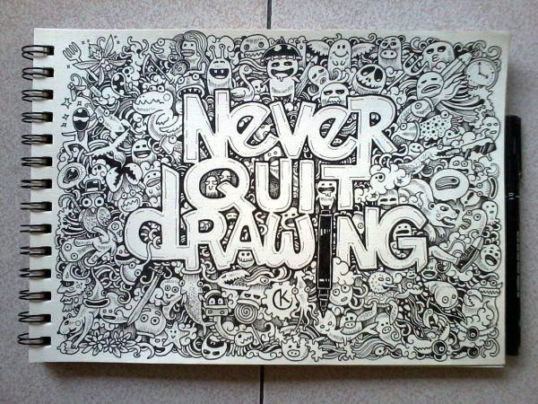 Interview With Doodle Artist Kerby Rosanes - Friday