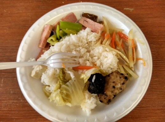 The newspaper I was interning at had their own kitchen, staffed by Chinese chefs. This meant free lunch every day, which was a huge monetary burden liften off my shoulders. Unfortunately, no one ever told us 'Westerners' what exactly the food was. Every day was an adventure.