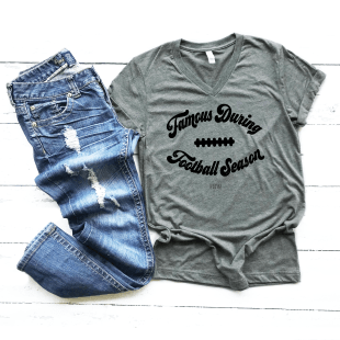 tshirts coachs wife football season
