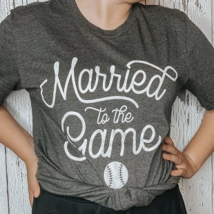 married to the game baseball softball
