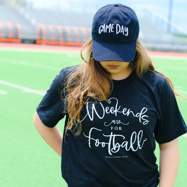 weekends are for football game day apparel