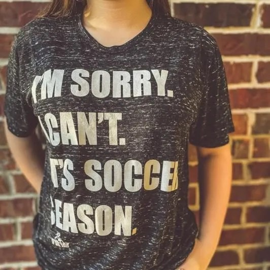 soccer tshirt game day apparel friday night wives