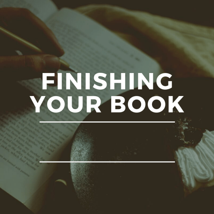 Working on your First Book?