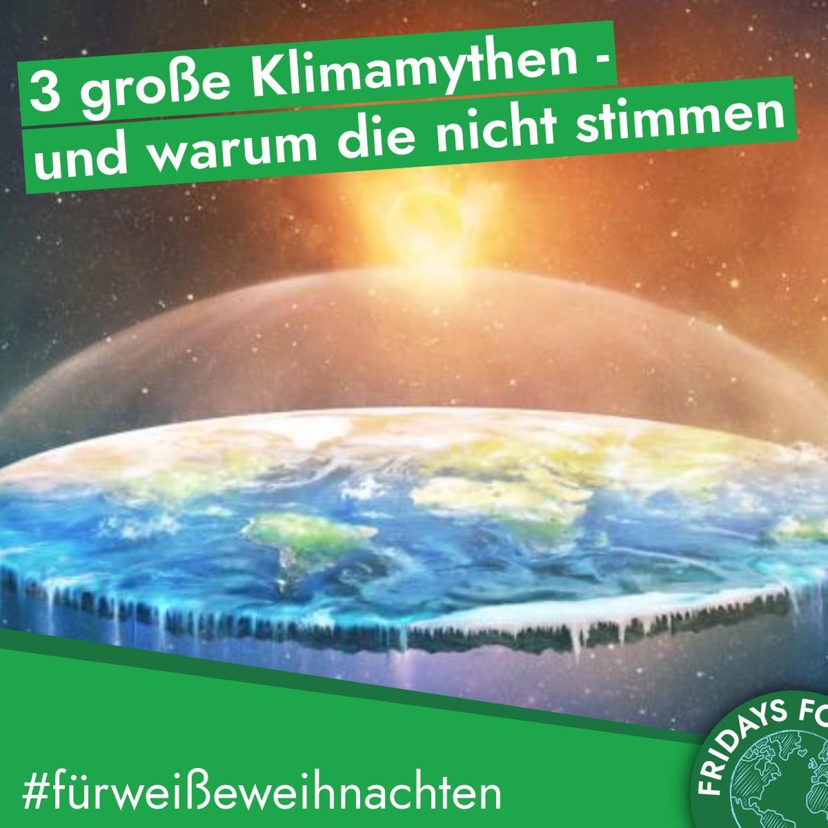 Türchen 21: 🌍 3 große Klimamythen – und warum die nicht stimmen 🌍