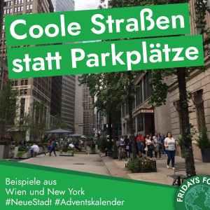Türchen 13: Coole Straße für Menschen, anstatt für Parkplätze