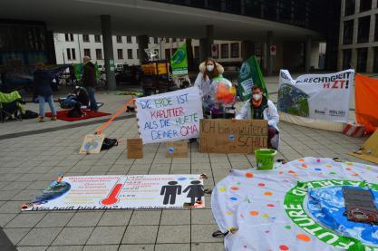 Klimacamp Saar, Tag1 - Health for Future Homburg