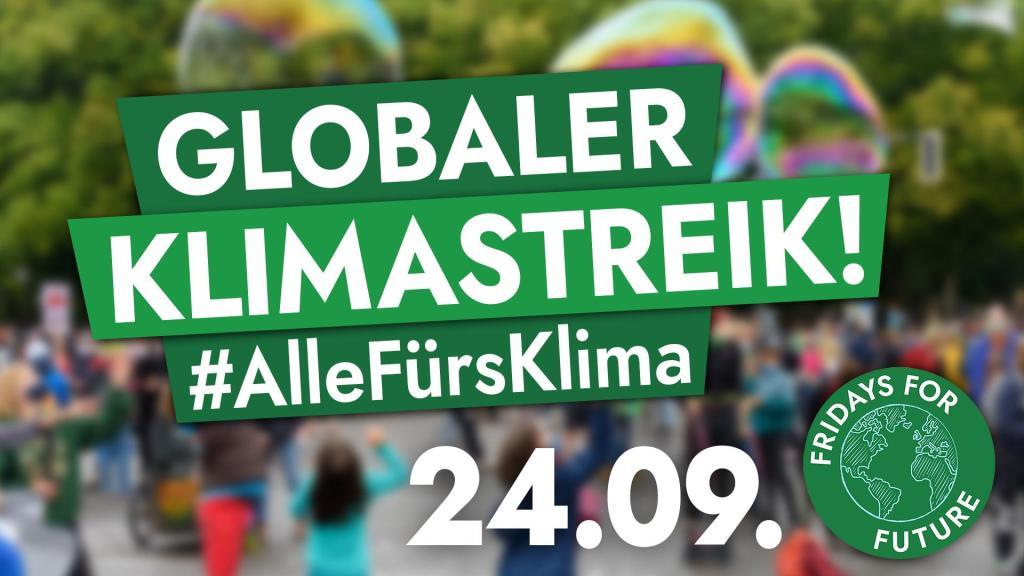 24.09. 8. Globaler Klimastreik im Saarland