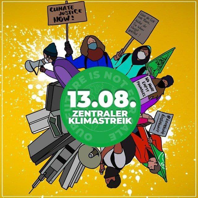Zentraler Klimastreik in Frankfurt am Main