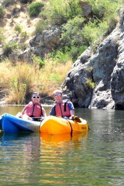 Kayaking the Salt River: Kayaking Date