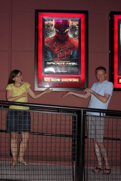 The Amazing Spider-Man Movie Date Night