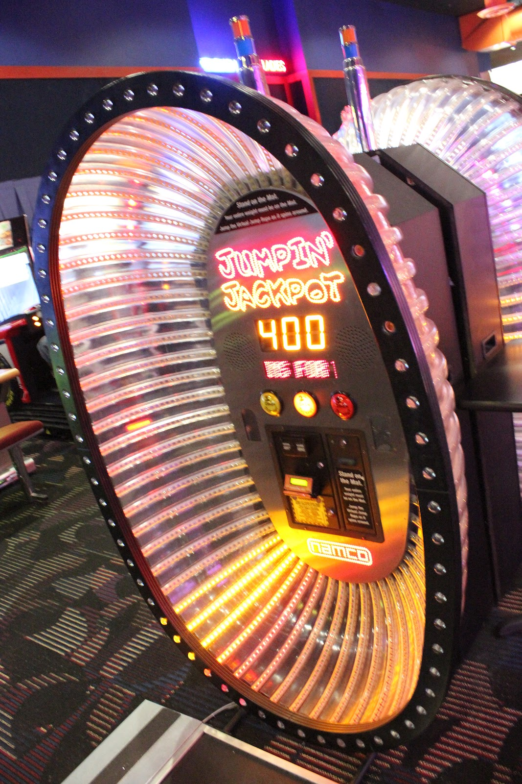 Dave and busters printable coupons january 2013 - We Tried To Choose Some Active Games Like Ddr And This Jump Rope Game We Had A Great Time Getting Our Heart Rate Up And Playing With Camera Settings In An