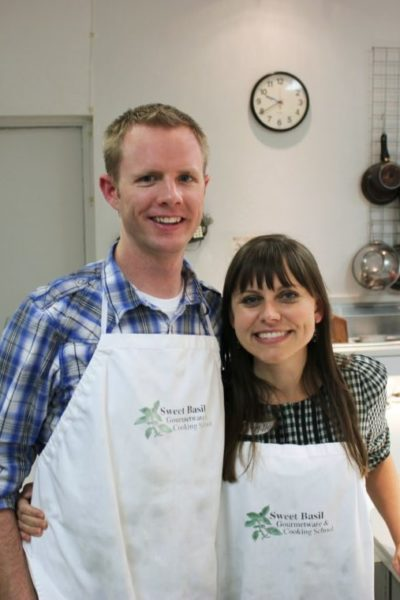 12 Months of Dates November: Sweet Basil Cooking Class