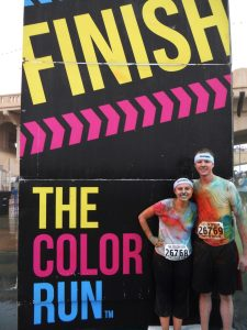 The color run date idea: a fun healthy date that's perfect for all fitness levels