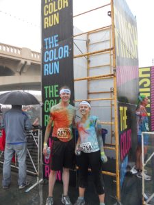 Color Run Date: a fun active date idea for any fitness level!