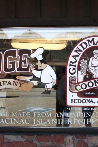 Sedona Getaway: Sedona Fudge Shop/Tlaquepaque