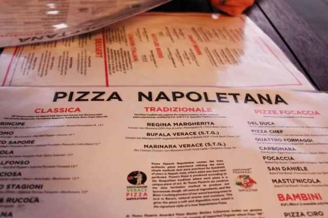 Pizza Napoletana: Pomo Pizzeria