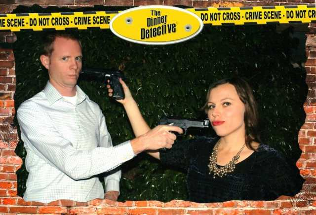 Murder Mystery dinner theater date