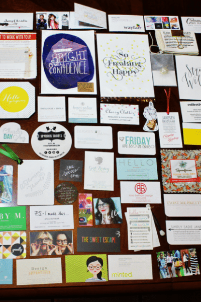 The Business Cards of Alt Summit 2014