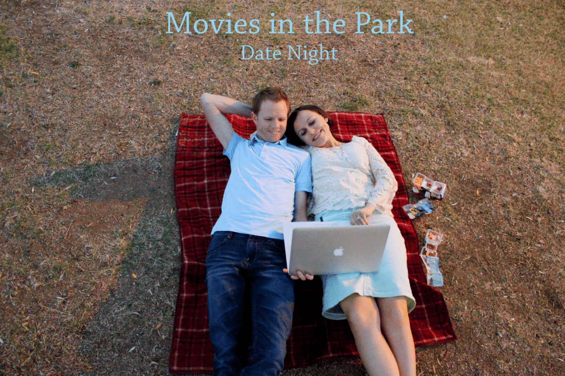 DIY Movies in the Park Date Night