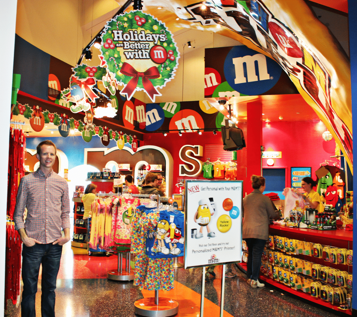 M&M Factory Las Vegas